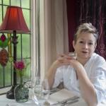 Celinda at table