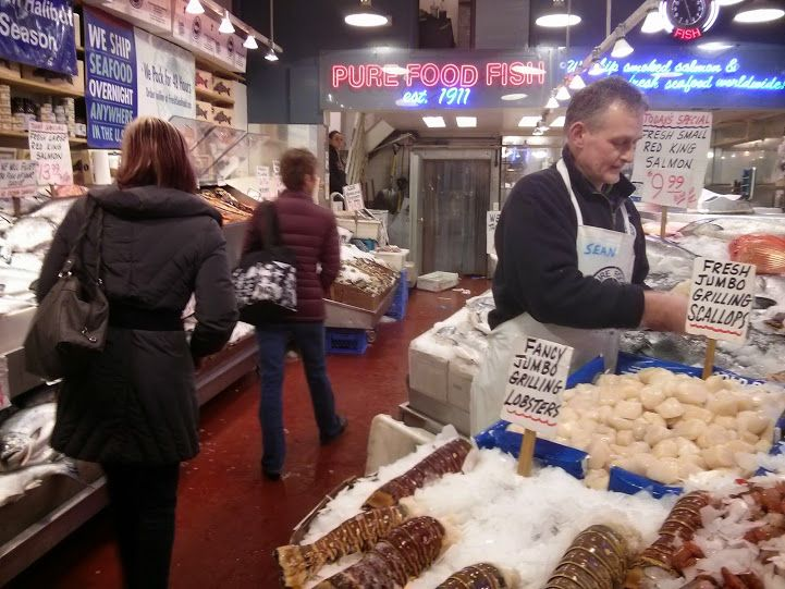 January 2015 fearless feast for Pure food fish market